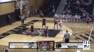 Rochester Boys Basketball vs Wabash