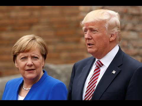 German Chancellor Sides With Trump Over Twitter