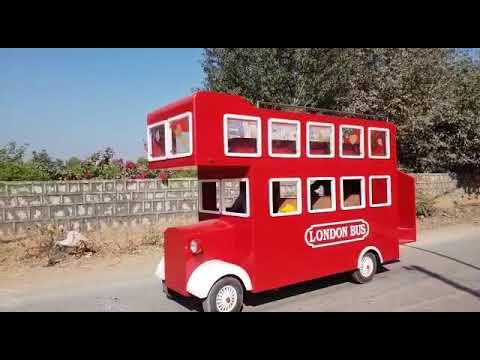 London Bus Amusement Rides