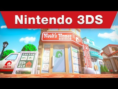 Видео № 0 из игры Animal Crossing: Happy Home Designer [3DS]
