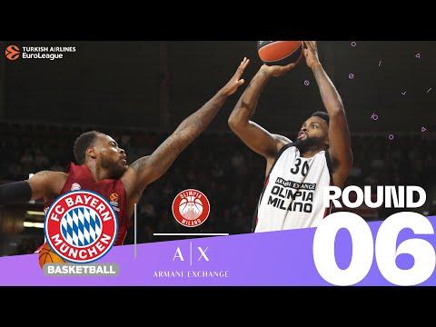 RS Round 6 Highlights: Bayern 83-77 Milan