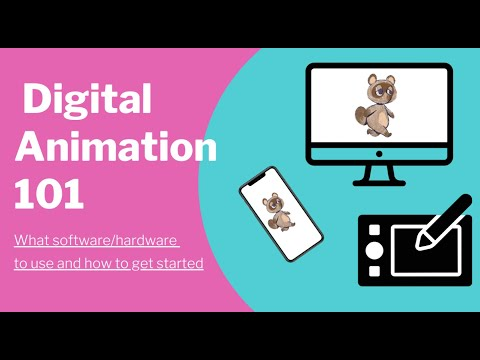 45 minute intro to Digital Animation Class I taught online. It will show you what hardware and software to get started with animation!