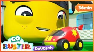 Der windige Tag und das verlorene Spielzeug | Go Buster Deutsch | Kinderlieder.| Cartoons für Kinder
