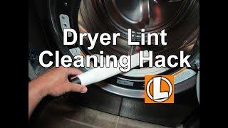 Vacuum Dryer Lint Hack