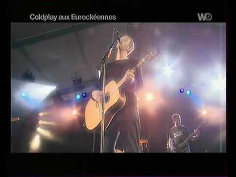 Coldplay live High Speed 2000