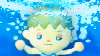 Animal Crossing but drown