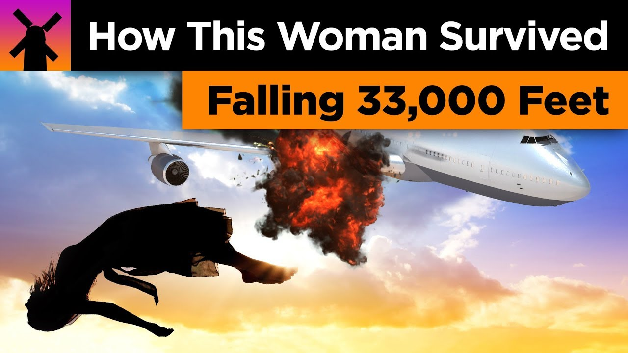 How a Woman Survived Falling 33,000 Feet Without a Parachute thumbnail
