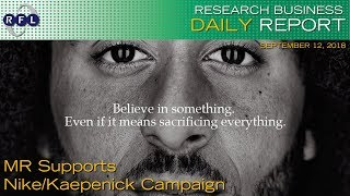 MR Supports Nike/Kaepenick Campaign | RBDR