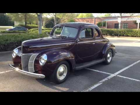 1940 Used Ford Coupe Deluxe SOLD at DIXIE DREAM CARS Serving