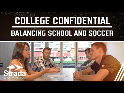 College Confidential Education Series   Balancing School and Soccer