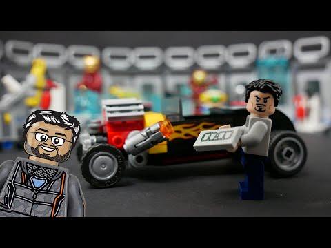 Vidéo LEGO Marvel 76167 : L'armurerie d'Iron Man