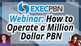 Webinar: How to Operate a Million Dollar Private Blog Network