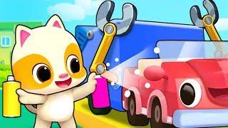 Garbage Trucks for Children | Doctor Cartoon, Fire Truck | Nursery Rhymes | Kids Songs | BabyBus