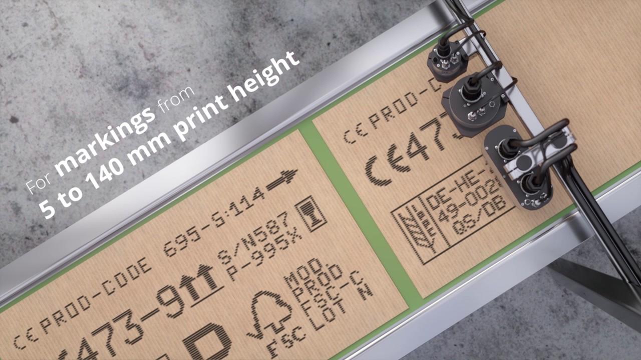 REA JET DOD 2.0 - Inkjet Printer voor grote symbolen