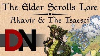 Akavir & The Tsaesci - The Elder Scrolls Lore