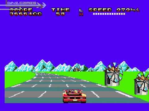 OutRun - Sega Master System (1987)