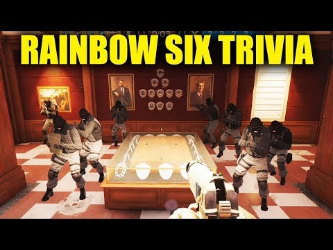 QUESTIONS THAT ONLY DIAMONDS KNOW! - Rainbow Six Siege Trivia