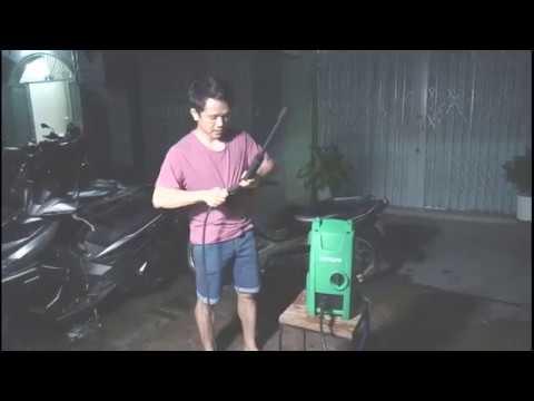 Máy rửa xe áp lực cao Hitachi AW100