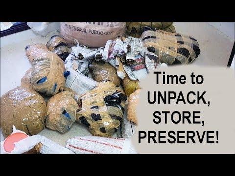 Unpacking & Storing Nigerian Food Ingredients from Nigeria   All Nigerian Recipes