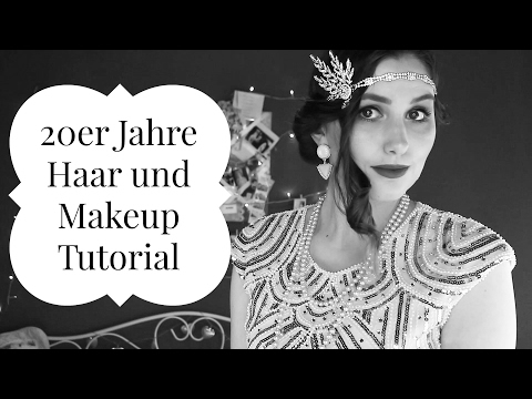 20er Jahre Gatsby Inspired Hair & Makeup Tutorial - Karneval/Fasching Outfit Idee