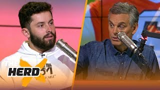 Baker Mayfield's full interview with Colin Cowherd | NFL | THE HERD