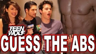 """Download Video """"Teen Wolf"""" Guess the Wolf Abs Quiz with Tyler Posey, Dylan O'Brien & Crystal Reed MP3 3GP MP4"""