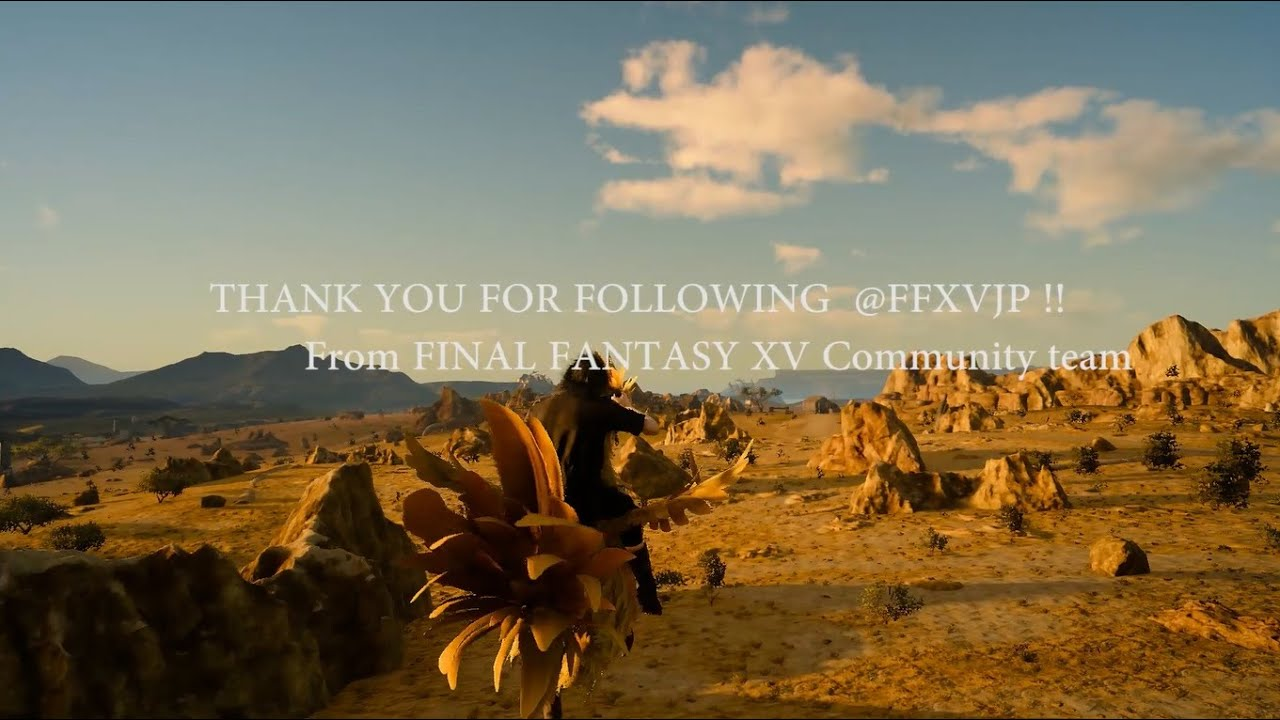 Here, Have A Weird Final Fantasy XV Chocobo Montage