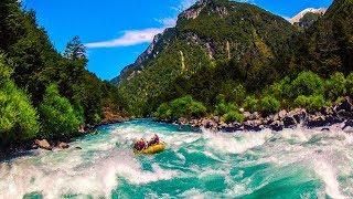 Спуск на байдарках по горным рекам