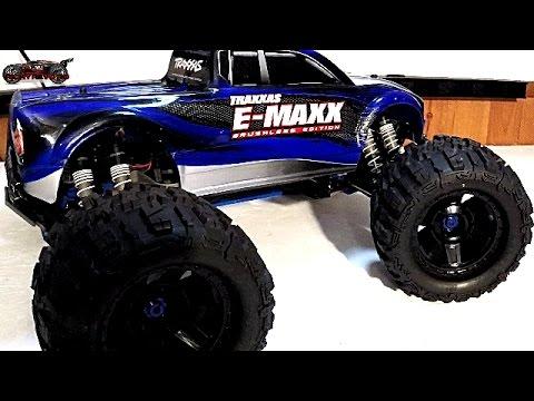 RC Car Reviews – MAXX MONSTER! Traxxas Brushless E-MAXX My Review (2017)