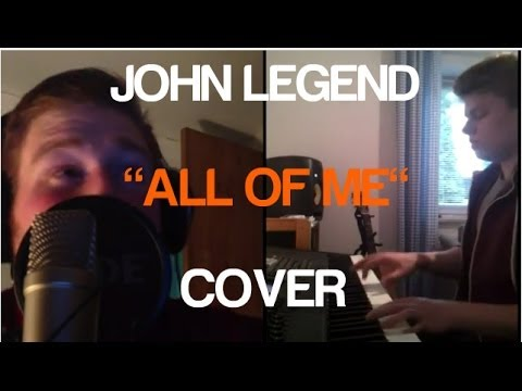 ALL OF ME - JOHN LEGEND - DEAN CHALMERS FT. JAN LADWIG [PIANO COVER]