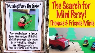 The Search For Mini Percy - Thomas And Friends Continued