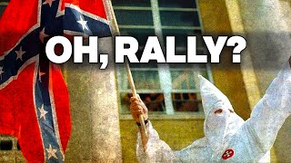 KKK Rallies To Defend Confederate Flag