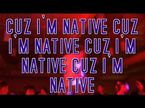 """WIZ KHALIFA REMIX - """"CUZ I'M NATIVE"""" - WAHWAHTAY BENAIS / N8IVEBRO"""