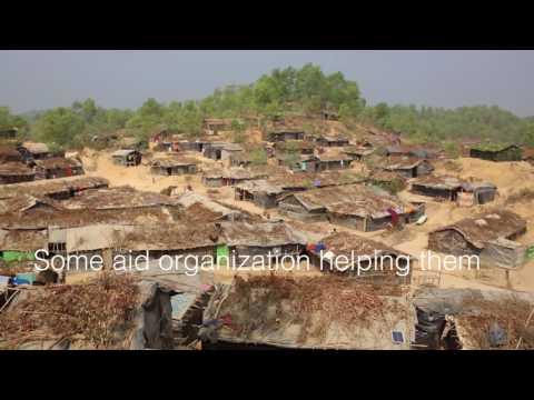Balu Khali Rohingya Camp in Bangladesh