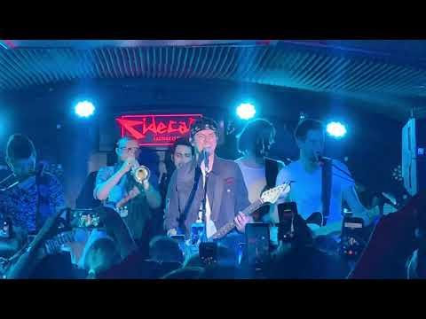 Alfred García - Londres - Sala Sidecar, Secret Show 1016 Tour