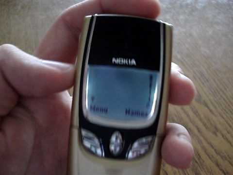 Nokia 8850 gold preview