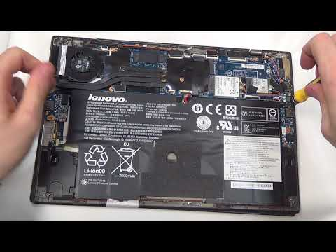 BitBastelei #271 - Lenovo Carbon X1 3rd Scharnier-Reparatur