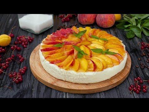 Как приготовить торт-суфле с персиками - Рецепты от Со Вкусом