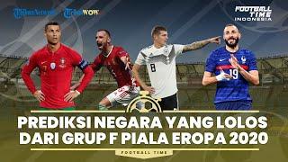 Prediksi Matchday Terakhir Grup F dan Peluang Lolos 16 Besar Euro 2020