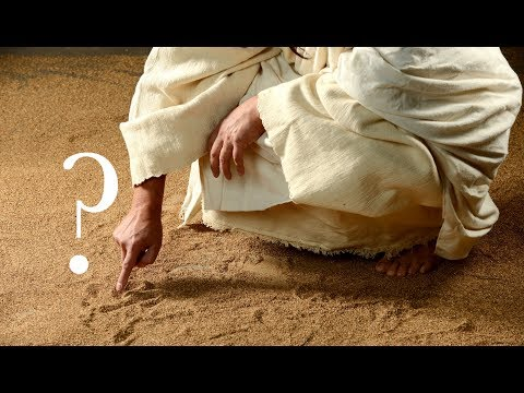 ╫ What Jesus wrote in the sand - Mystery of the Stoning