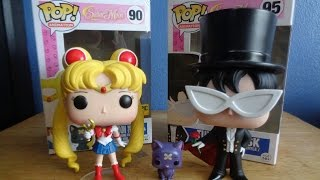 Hot Topic Exclusive Sailor Moon and Tuxedo Mask UNBOXING!