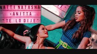 Natti Natasha Ft. Anitta    Te Lo Dije  ( GerDj Remix )