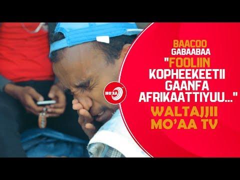 BAACOO GABAABAA  ''FOOLIIN KOPHEEKEETII GAANFA AFRIKAATTIYUU.. ''