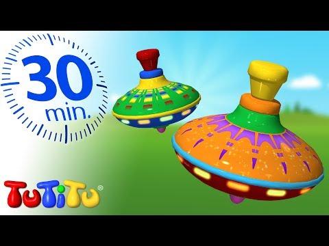 TuTiTu Deutsch | Beste Kleinkinder Spielzeug | Kreisel | Zusammenstellung