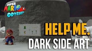 Super Mario Odyssey : All Found With Dark Side Art Moon Locations In Dark Side Kingdom
