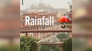 Rainfall ☔ in Rome #myeuropewinterjourney2018