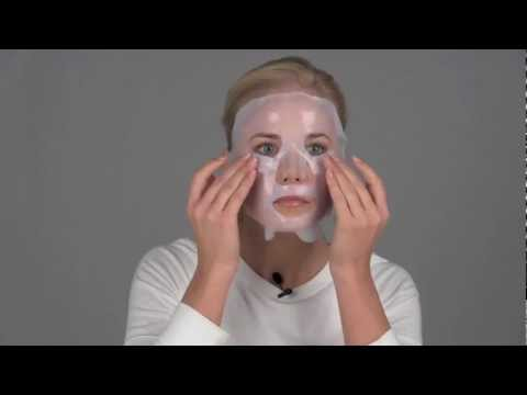 How to apply our bio cellulose facial treatment mask