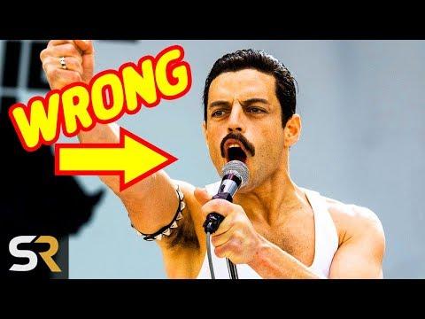 8 Things Bohemian Rhapsody Got Wrong About Freddie Mercury