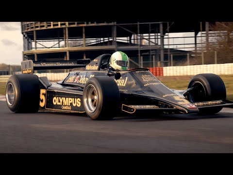 Chris Harris vs the Lotus 79 | Top Gear: Series 27