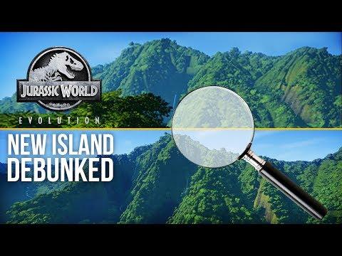 NEW ISLAND UPDATE - DEBUNKED | Jurassic World: Evolution Update